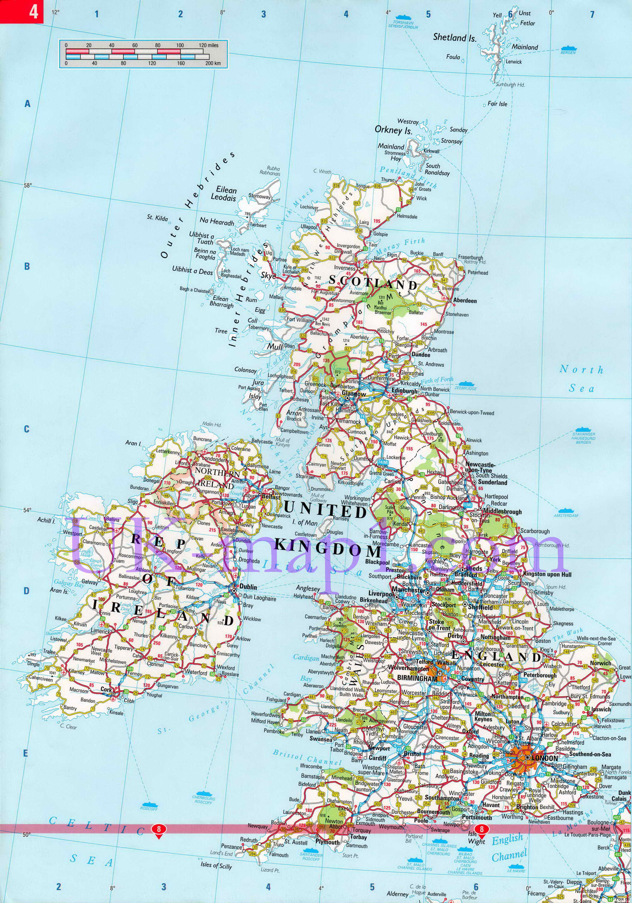 England Road Map Mapquest Related Keywords Suggestions England – Map Uk Roads